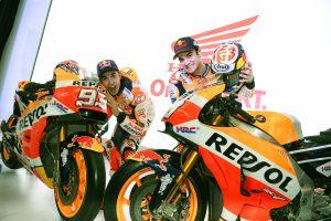 Presentazione Honda MotoGp Marquez Pedrosa