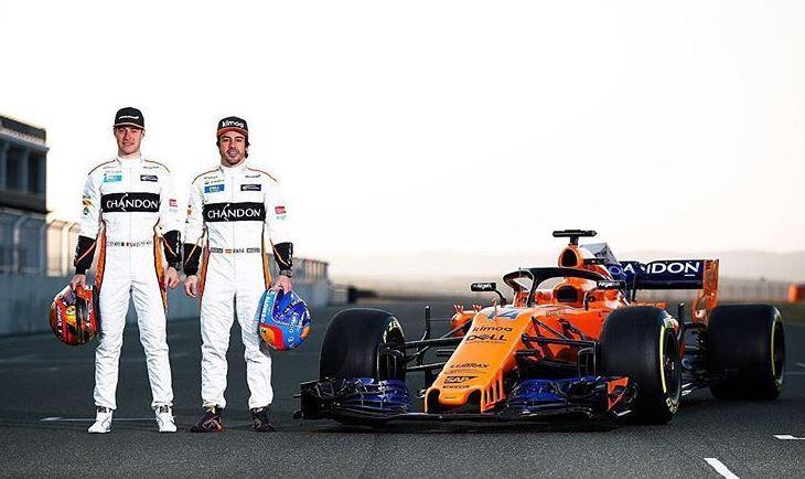 F1 2018, McLaren: MCL33 arancio per Alonso e Vandoorne