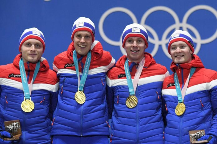 Medagliere Olimpiadi invernali 2018