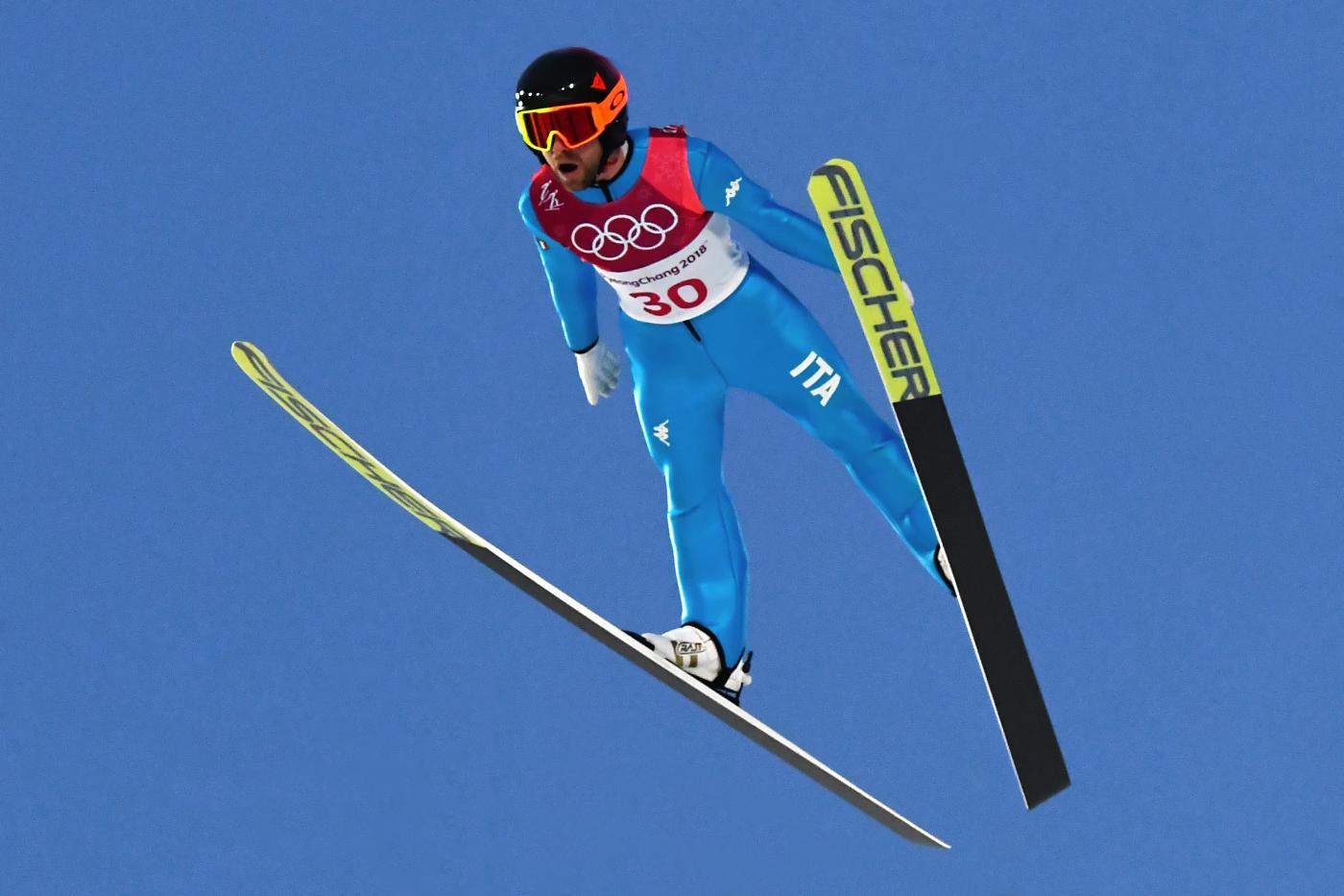 salto con gli sci olimpiadi invernali 2018