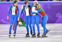 Olimpiadi invernali 2018 short track staffetta italia