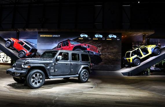 Jeep Stand Salone di Ginevra