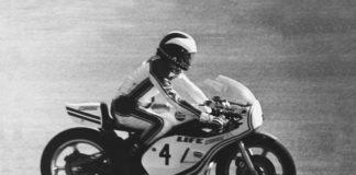 Phil Read 200 miglia di Imola 1976 Yamaha TZ750