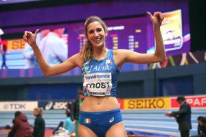 Atletica – Alessia Trost a Sesto San Giovanni per allenarsi