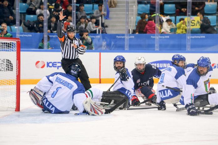 para ice hockey italia