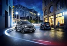 speciali smart EQ fortwo and forfour edition nightsky