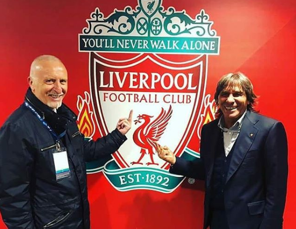 Liverpool-Roma, la vendetta di Pruzzo e Conti: dito medio davanti allo stemma