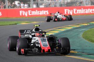 Grosjean e Magnussen