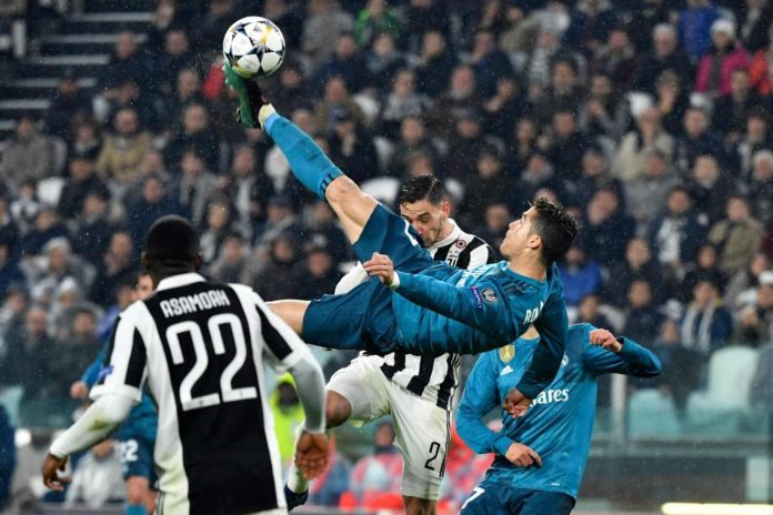 Cristiano Ronaldo rovesciata Juventus