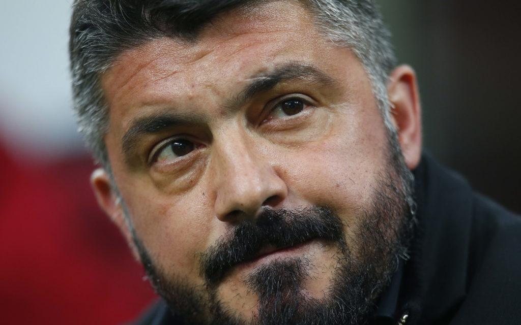 Milan vs Inter Gattuso