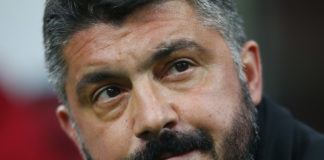Milan vs Inter Gattuso