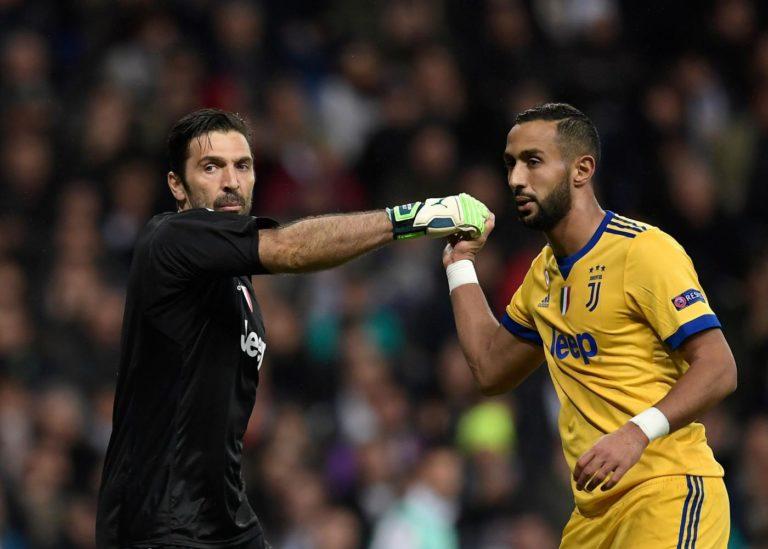 Calcio - Buffon e Benatia sarebbero stati protagonisti di un duro battibecco dopo la sconfitta subita dalla Juventus contro il Napoli - AFP/LaPresse