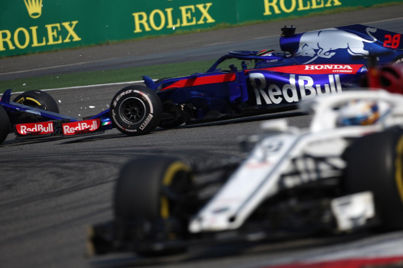 F1 - Secondo il Berlin Kurier, la Red Bull avrebbe volontariamente fatto investire Gasly e Hartley a Shanghai per vincere il Gp della Cina - Photo4 / LaPresse