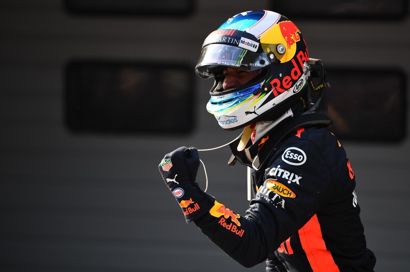 F1 - Daniel Ricciardo mette la Red Bull con le spalle al muro, l'australiano ha rivelato le sue esose richieste al team di Milton Keynes per rinnovare il proprio contratto - AFP/LaPresse
