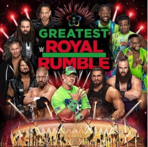 The Greatest Royal Rumble evidenza