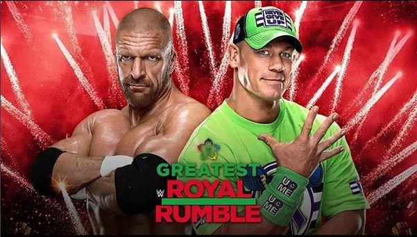 Triple H vs John Cena a The Greatest Royal Rumble