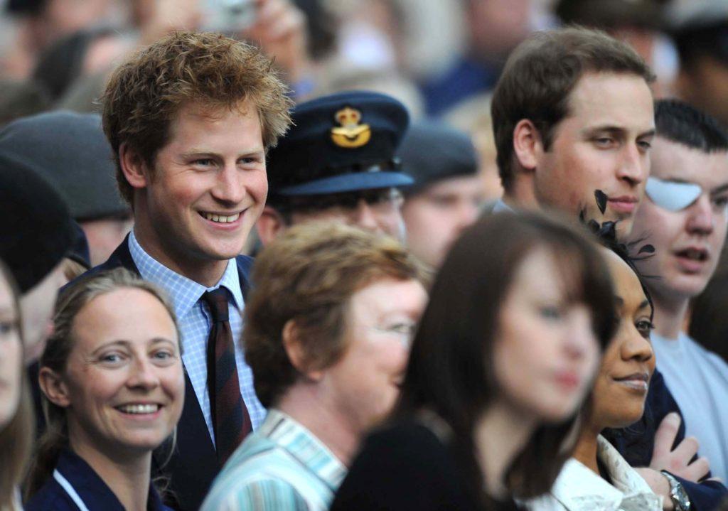 William ed Harry d'Inghilterra