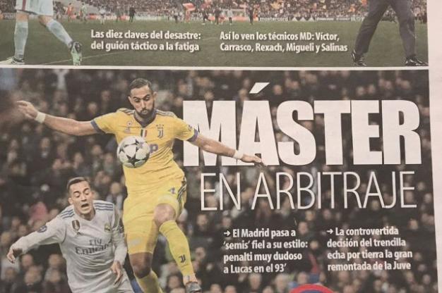 Champions League: Juventus, Chiellini attacca i poteri forti