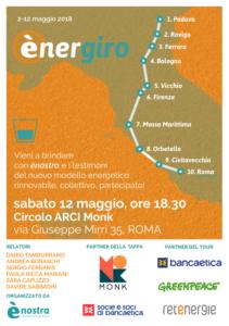 A5 volantino energiro Roma