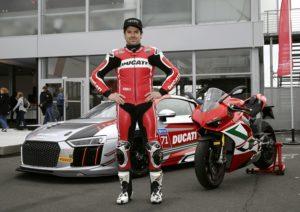 Carlos Checa Audi R8 LMS Cup