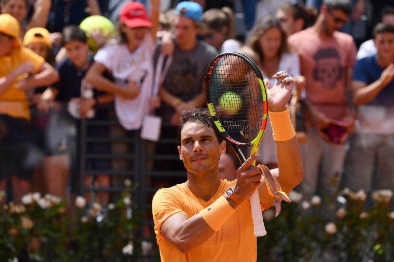 Rafael Nadal vs Fabio Fognini - Tennis Internazionali BNL d'Italia 2018