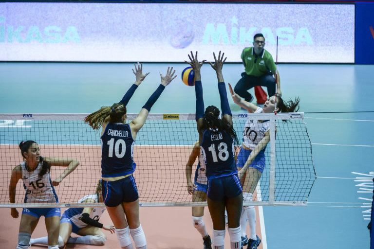 Volleyball Nations League italia femminile