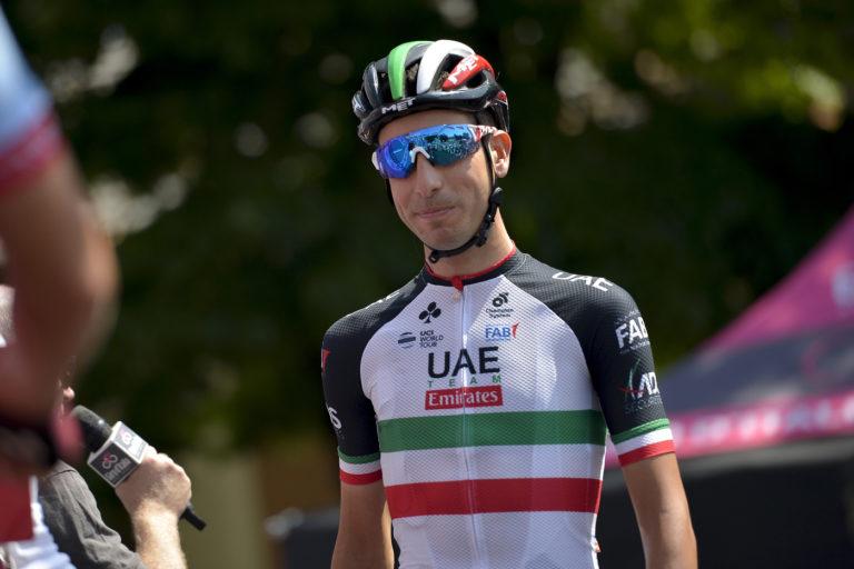 Ciclismo - Fabio Aru valuta l'idea di partecipare al Tour de France dopo la delusione al Giro d'Italia. La prossima settimana la decisione del sardo e del suo team(Foto Marco Alpozzi - LaPresse)