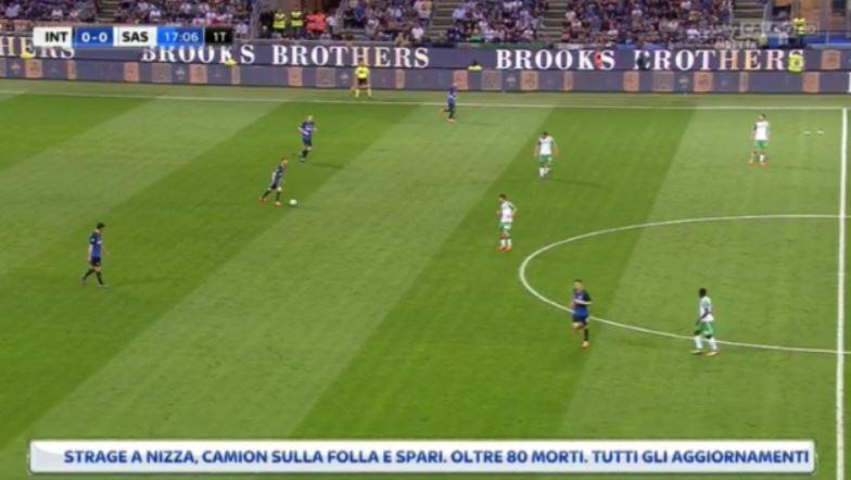 Inter-Sassuolo, su Sky spunta notizia attentato a Nizza: ma è un errore