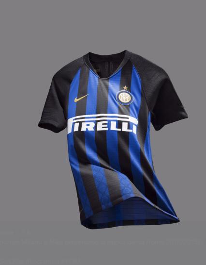Inter, presentata la nuova maglia per la stagione 2018