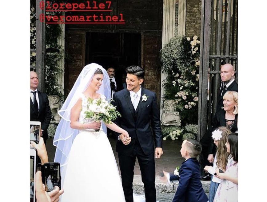 Matrimonio Alla Romana : Matrimonio lorenzo pellegrini il calciatore della roma si