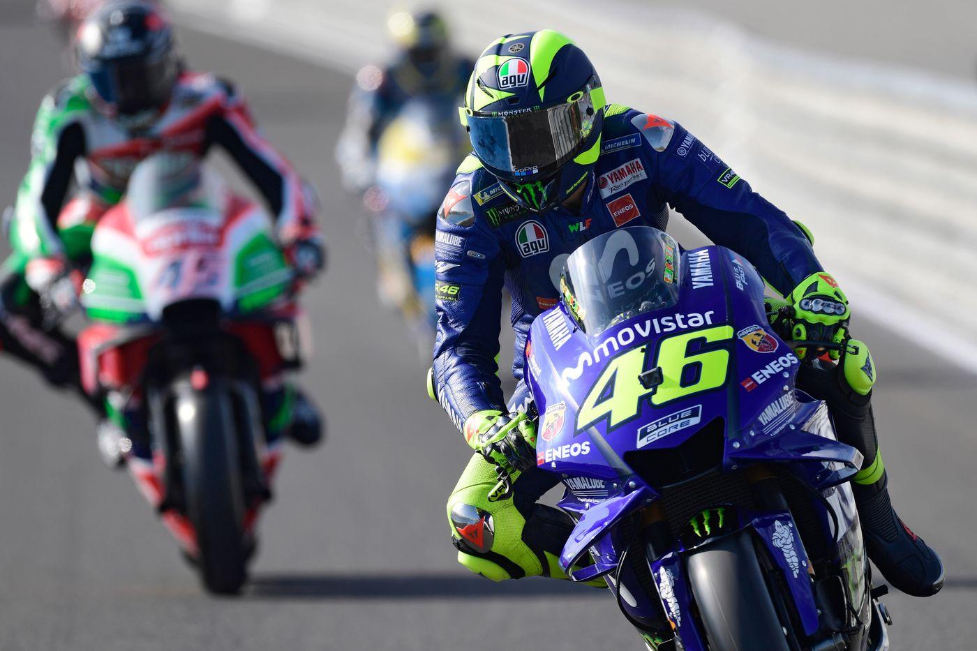 MotoGP Jerez, Valentino Rossi:
