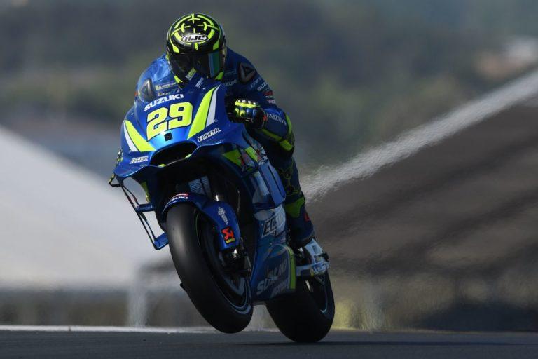MotoGp - Andrea Iannone è stato il più veloce nelle due sessioni di prove libere al Mugello, brutto incidente invece per Pirro, ricoverato all'ospedale di Firenze - AFP/LaPresse