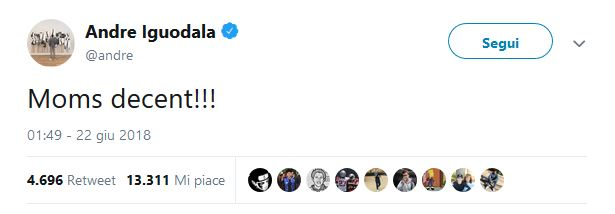 Draft NBA 2018 – Tutti pazzi per la mamma di Doncic! Il twee
