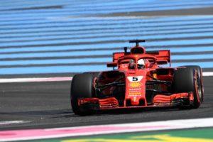 Sventola il vessillo di Hamilton sul (Le) Castellet, Vettel