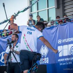Tiro con l'arco – Coppa del mondo: Mauro Nespoli d'oro a Sal