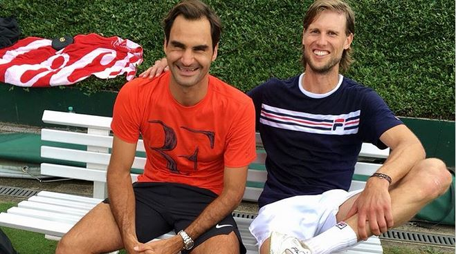 ATP Halle – Seppi si allena con un partner d'eccezione: l'azzurro in compagnia di Roger Federer [FOTO]