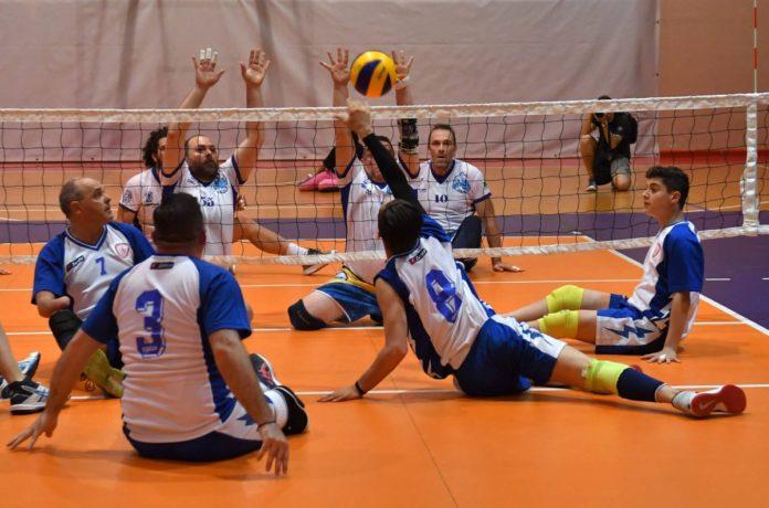 Sitting Volley - Un'azione di gioco