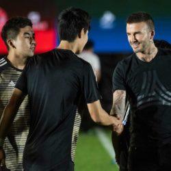 Beckham e la sua 'premonizione Mondiale': a Pechino David de
