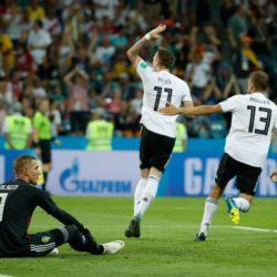 Mondiali Russia 2018 – La Germania beffa la Svezia sul final