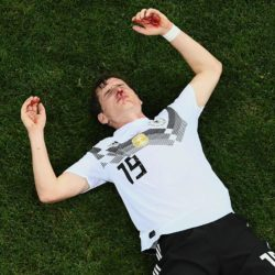 Mondiali Russia 2018 – Che botta per Rudy: Sebastian sanguin