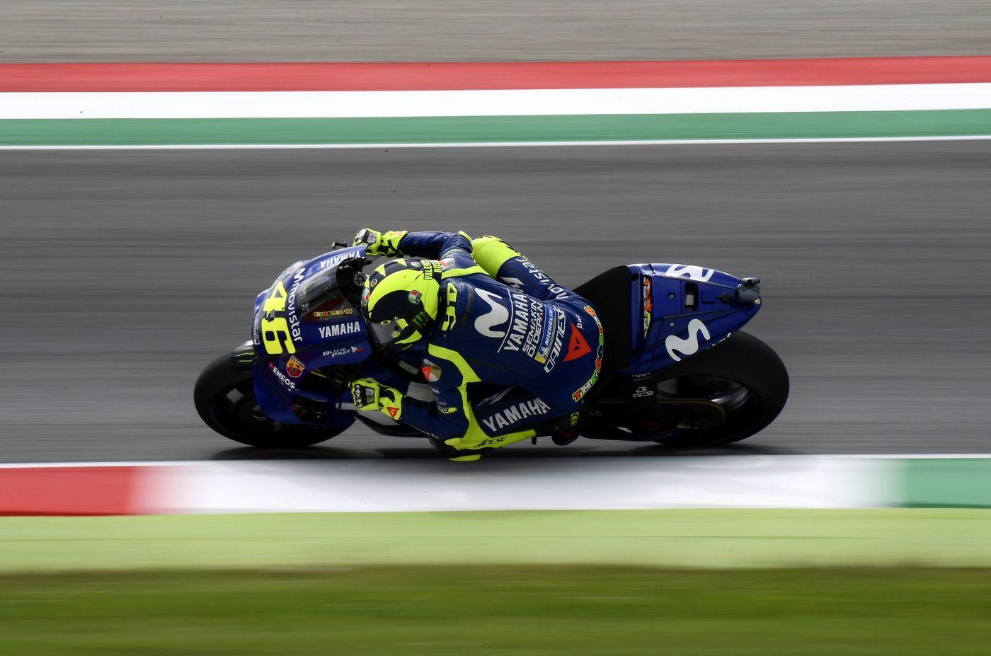 Motomugello, GP Italia: Valentino Rossi, nuovo record della pista, parte in pole