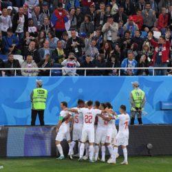Mondiali Russia 2018 – Serbia Svizzera: le FOTO più belle de