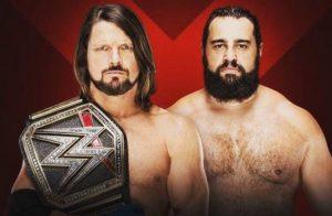 Aj Styles vs Rusev Extremer Rules