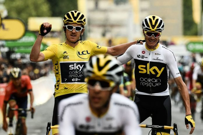 geraint thomas chris froome