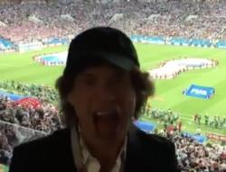 Croazia-Inghilterra |  anche Mick Jagger tra il pubblico dello Stadio Luzniki di Mosca