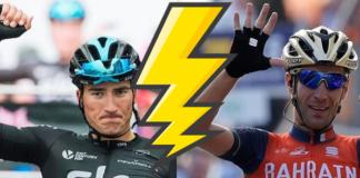 Moscon Nibali Tour de France 2018