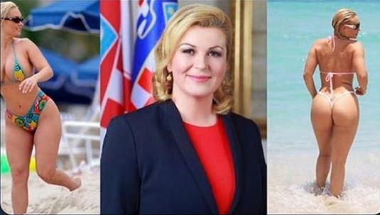 Mondiali Russia  La Presidentessa Della Croazia E Supery Il Web Se Ne Innamora Ma E Uno Scambio Di Persona Gallery