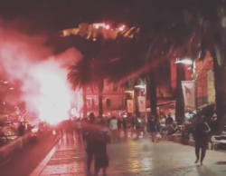 Mondiali Russia 2018 |  Croazia in finale |  tra fuochi d'artificio e urla |  per le strade la