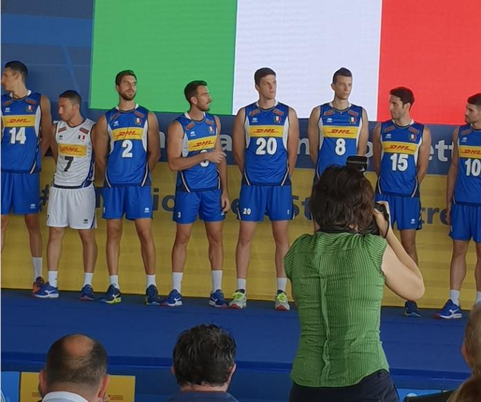 nazionale italiana pallavolo