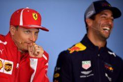 Raikkonen e Ricciardo